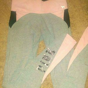 Pink by vs yoga pants
